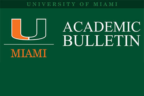University of Miami Bulletin